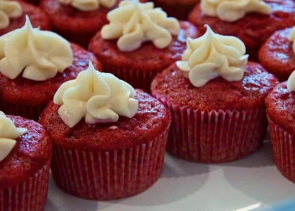 Picture of red cupcakes