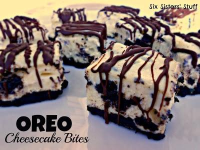 Oreo Cheesecake Bites Recipe - Six Sisters Stuff