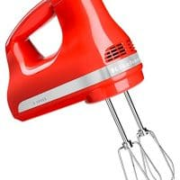 KitchenAid 606354-KHM512HT Hot Sauce 5-Speed Ultra Power Hand Mixer