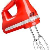 KitchenAid 606354-KHM512HT Hot Sauce 5-Speed Ultra Power Hand Mixer