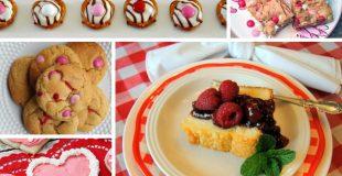 Picture of Valentine's desserts