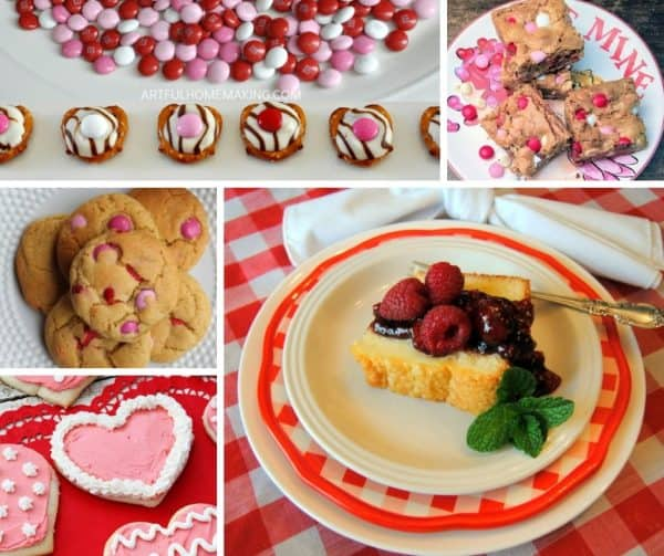 Picture of Valentine's desserts