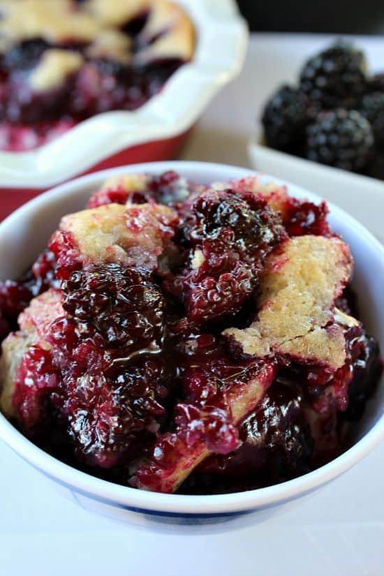 Oregon - Blackberry Cobbler - Great Grub, Delicious Treats