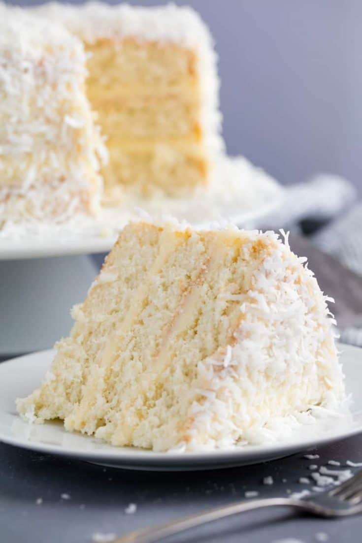 South Carolina - Coconut Cake - The Stay At Home Chef