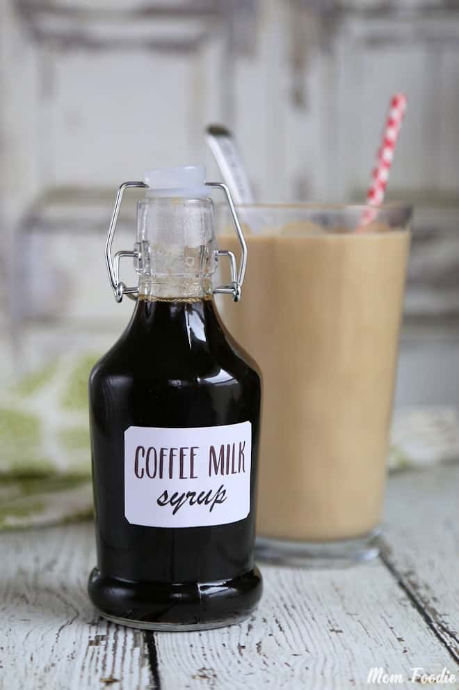 Rhode Island - Homemade Coffee Syrup Recipe for Coffee Milk - Mom Foodie