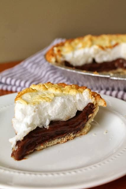 Montana - Old Fashion Chocolate Pie - My Grandmother's Recipes