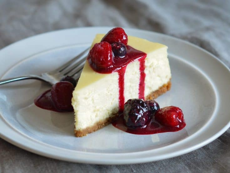 New York - New York-Style Cheesecake - Once Upon A Chef