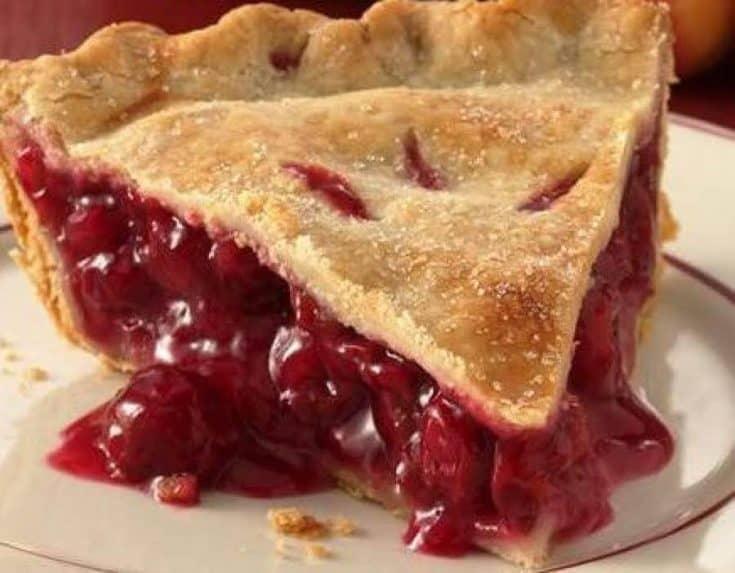 Iowa - Old Fashioned Cherry Pie - Just a Pinch