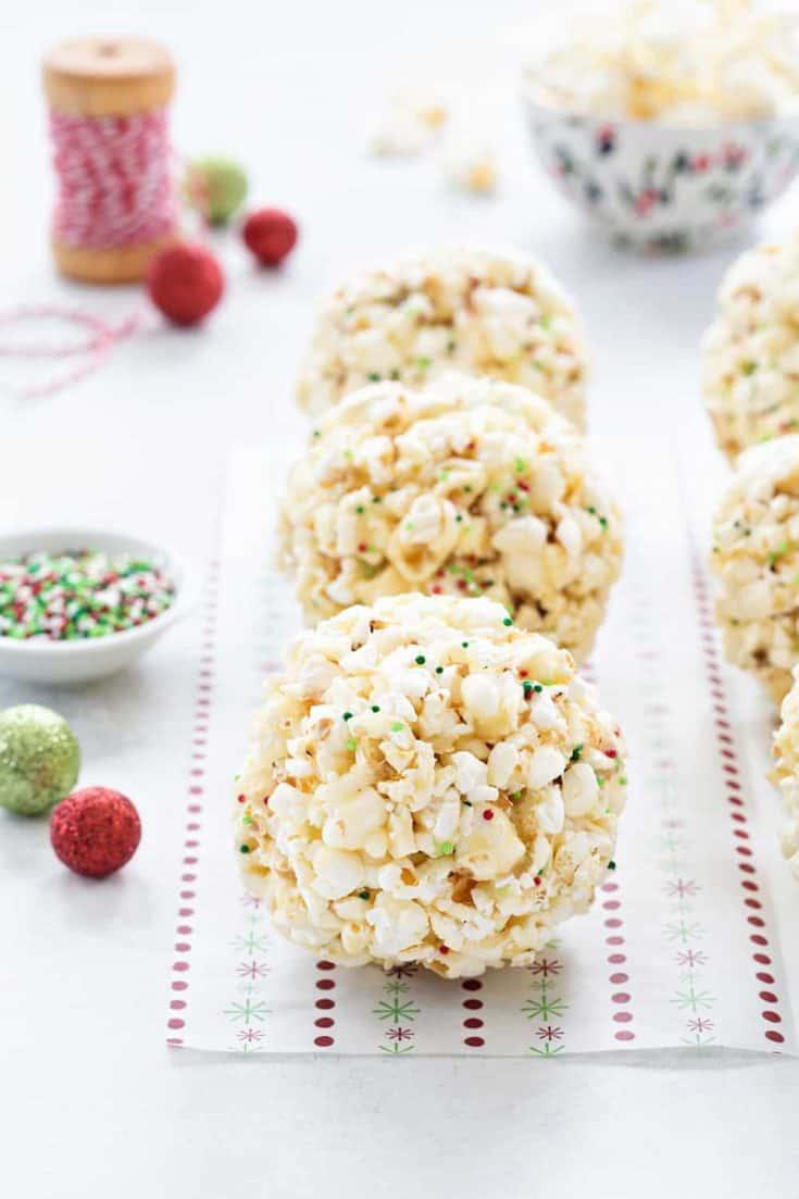 Nebraska - Popcorn Balls - My Baking Addiction