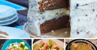 Picture of four recipes from around the web.
