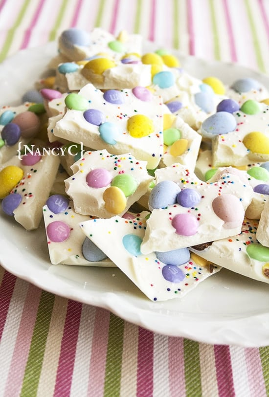 Picture of Easter egg bark