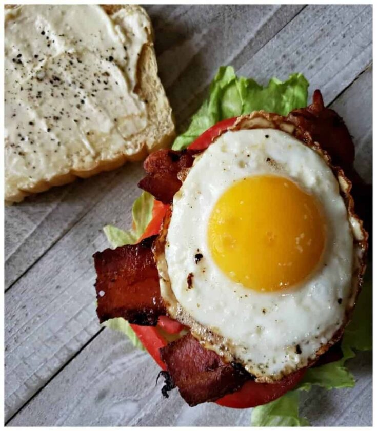 Picture of Breakfast B.L.T. Sandwich Recipe