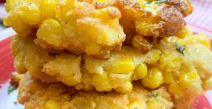 Picture of corn fritters