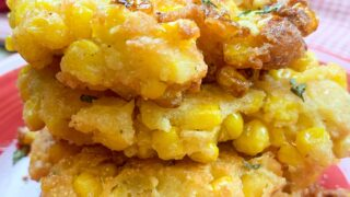 Corn Fritters (+Video)
