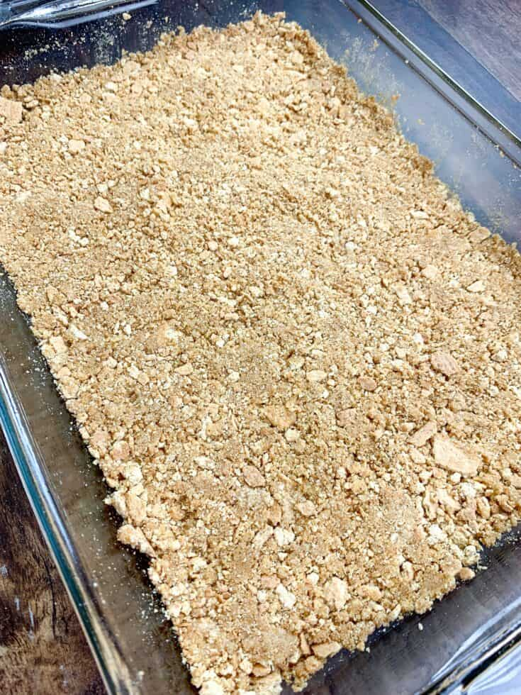 Picture of a graham cracker crust