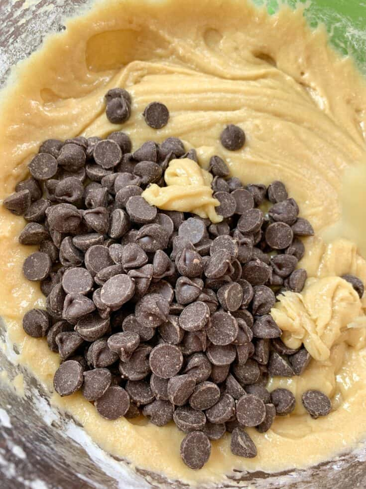 Picture of chocolate chips