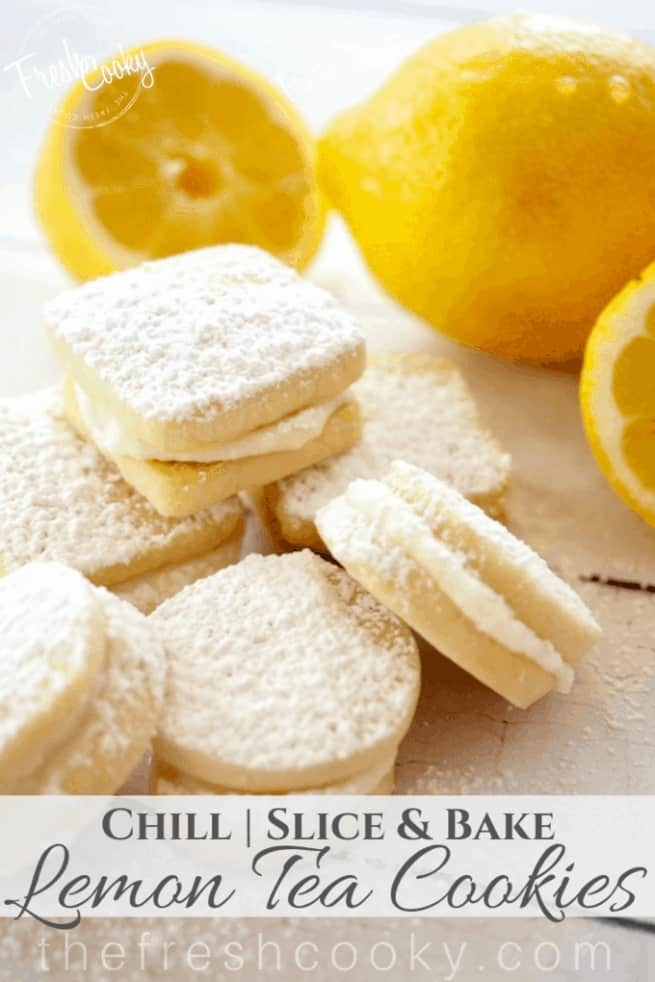 Picture of lemon cookies