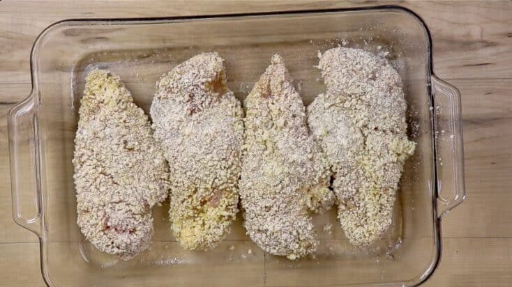 Picture of breaded chicken