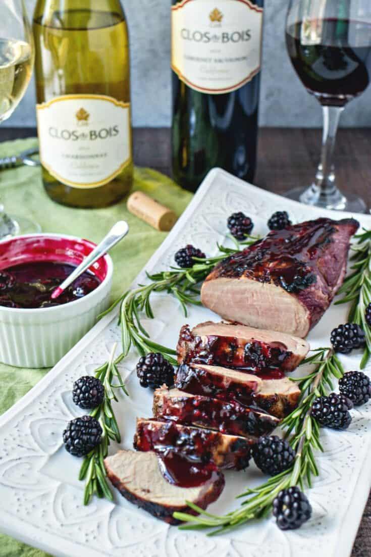 Blackberry & Rosemary Pork Tenderloin (+wine pairing) - CPA