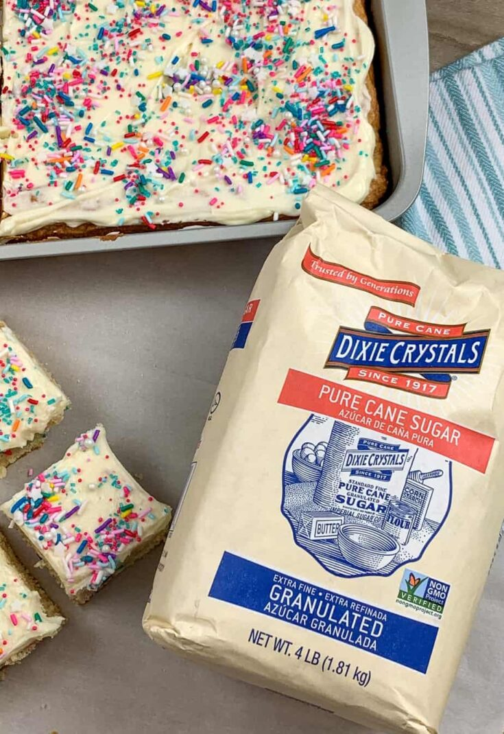 Dixie Sugar crystals bad with cookie bars