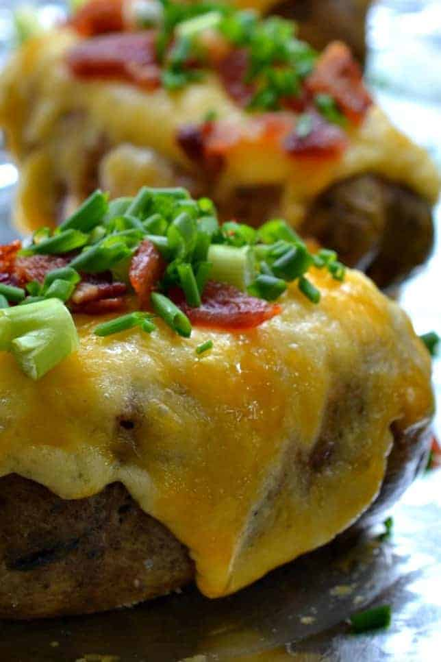 Twice Baked Potatoes - Small Town Woman
