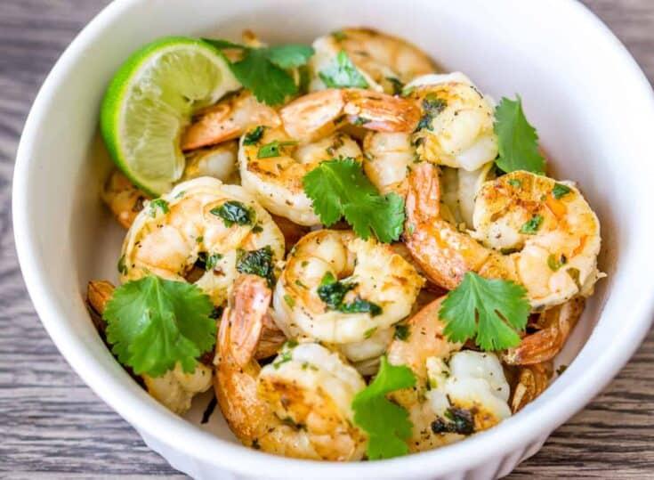 20 Minute Cilantro Lime Shrimp