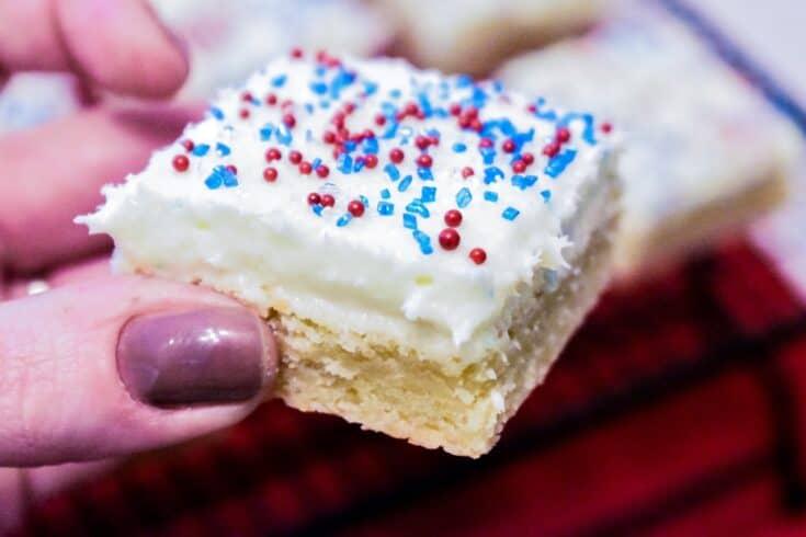 Easy Sugar Cookie Bars