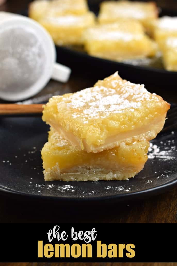 The Best Lemon Bars Recipe with Shortbread Crust - Shugary Sweets