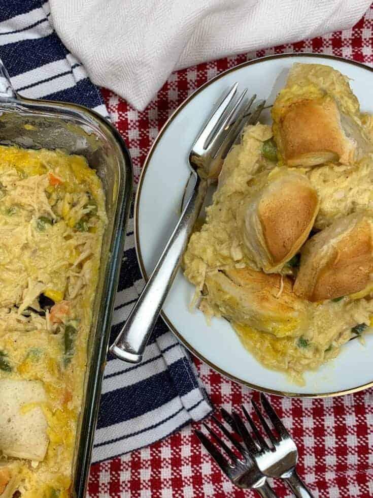Chicken and Biscuit Casserole