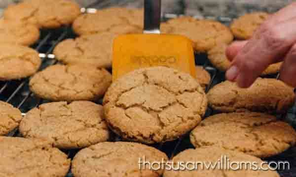 Browned Butter Dark Brown Sugar Cookies