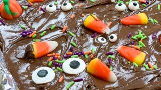 Halloween Chocolate Crack