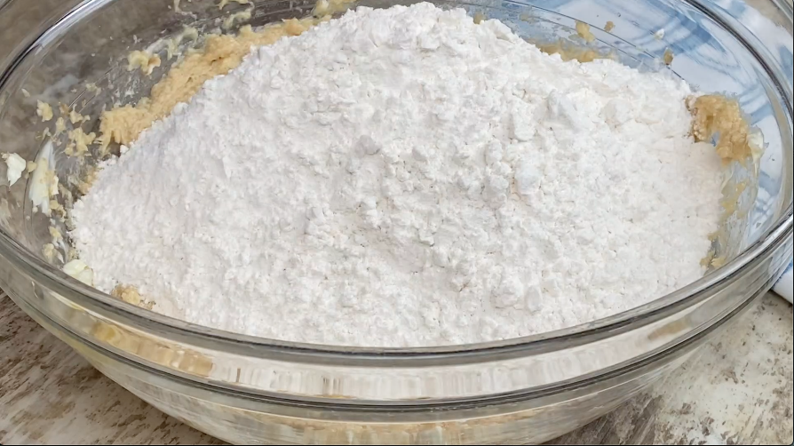 Flour for M&M cookies