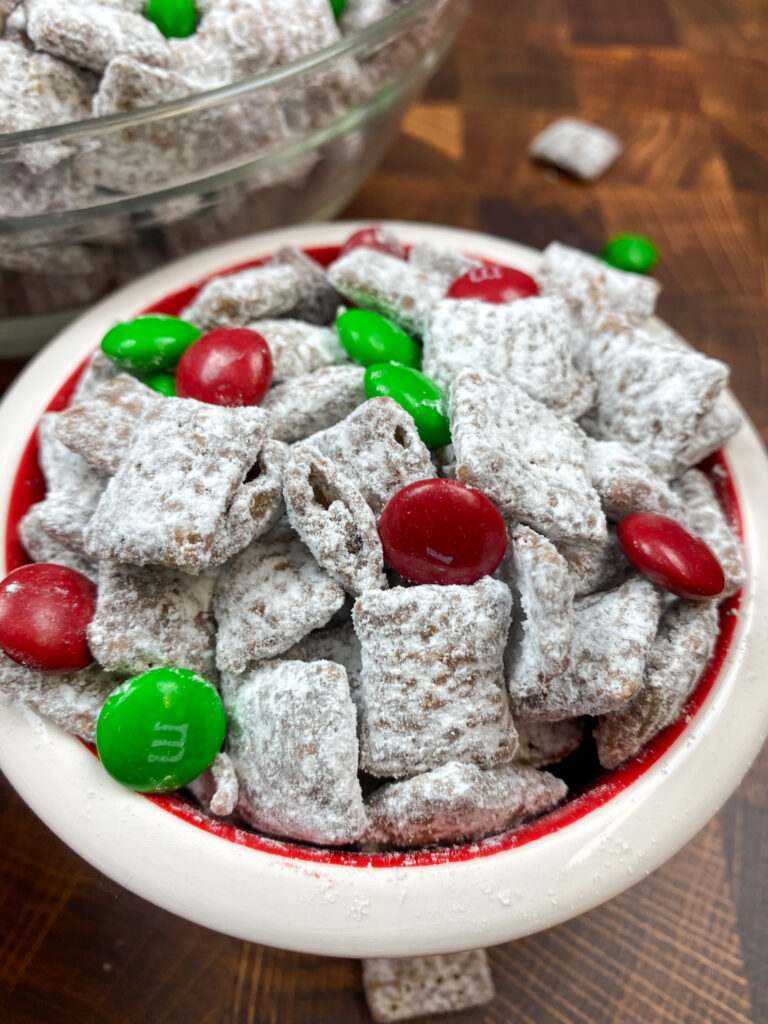 Christmas Puppy Chow Back To My Southern Roots