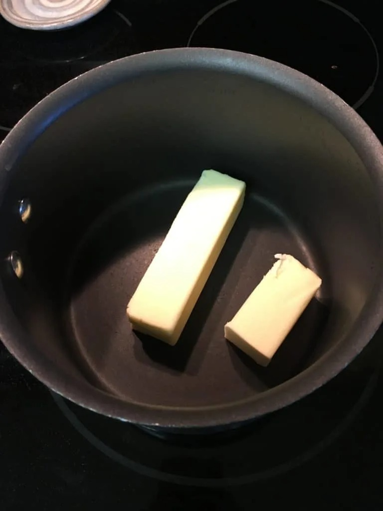 Homemade fudge recipe.