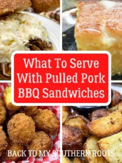 What to serve with pulled pork barbecue sandwiches